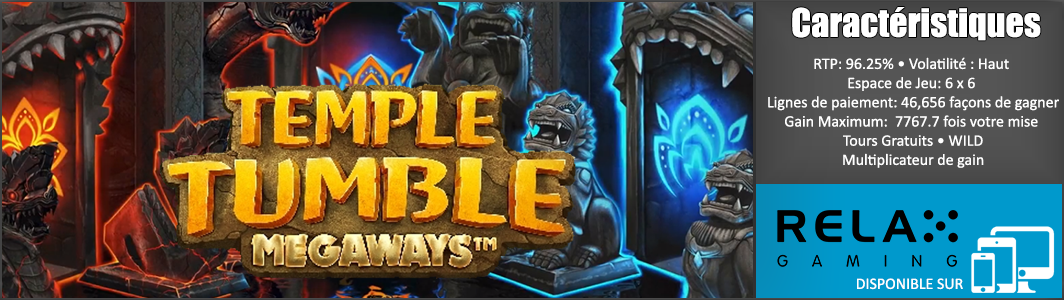 GAME-INFO-BANNER-TEMPLE-TUMBLE-MEGA-WAYS-RELAX-GAMING