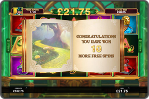GAME-LIBRARY-MORE-FREE-SPINS-BOOK-OF-OZ-MICROGAMING