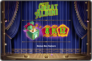 GAME-LIBRARY-THE-GREAT-ALBINI-BONUS-BOX-FEATURE-FOXIUM-MICROGAMING