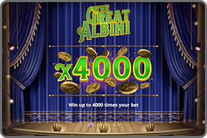 GAME-LIBRARY-THE-GREAT-ALBINI-WIN-UP-TO-4000-TIMES-YOUR-BET--FOXIUM-MICROGAMING