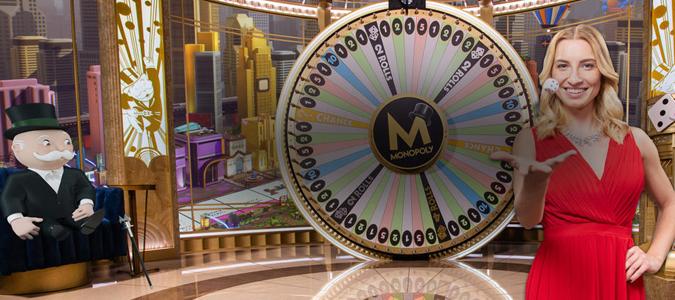 La roulette MONOPOLY maintenant disponible en direct sur Casumo!
