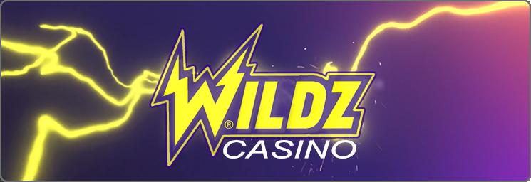 Wildz Casino 100% jusqu'à 500 $ + 200 tours gratuit